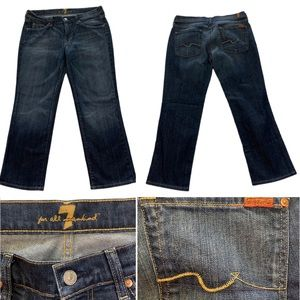 7 for all mankind jeans 32 x 27 womens